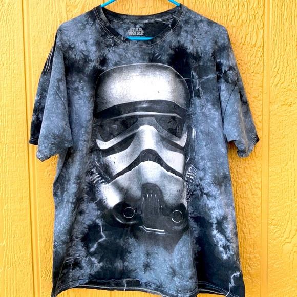 Star Wars Graphic Tee Black Gray Size 2XL …